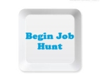 begin job hunt button